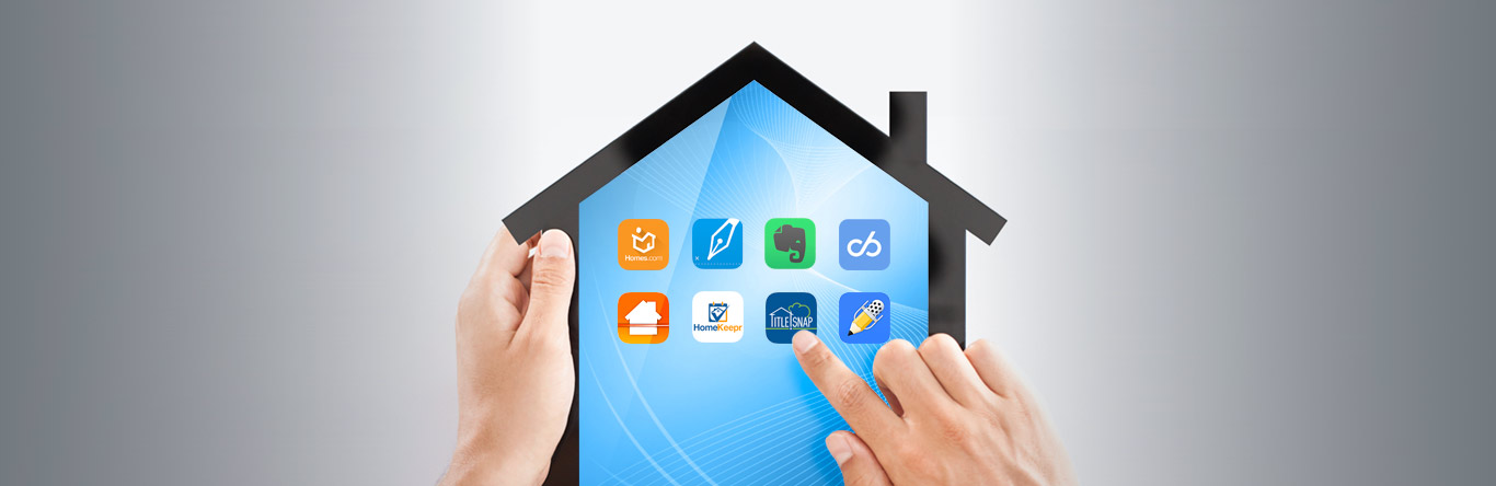house shaped tablet displaying apps